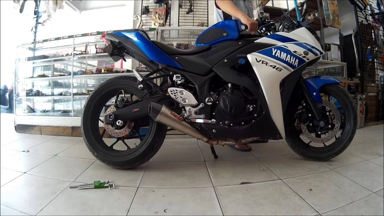 Promo Harga Knalpot Prospeed R15 Termurah 2018 Mf Series Yamaha Vixion Old Full R R25 With Pro Speed Rev Test Auto Motor