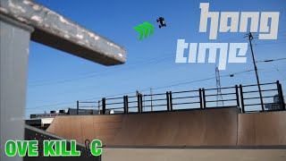 Traxxas E-Revo 2.0 Gets Some HANG TIME at the Skate Park | Edit & Running Clips | Overkill RC