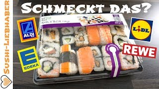 Fertig-Sushi aus dem Supermarkt - getestet!