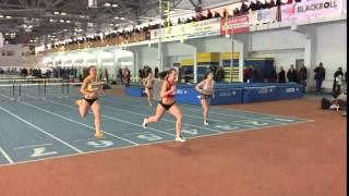 Біг на 60 м з/б (0.840) Жінки  (Забіг 2) «Різдвяні старти»
