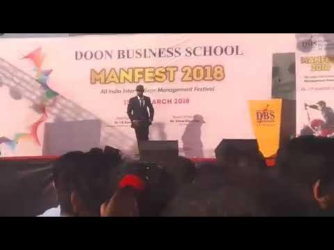 Michael Jackson | best dance performance in Doon business school| Dehradun,Uttarakhand