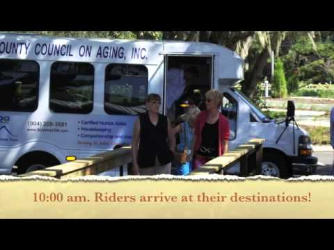 A Day in the Life of COA Transportation ~ St. Johns County