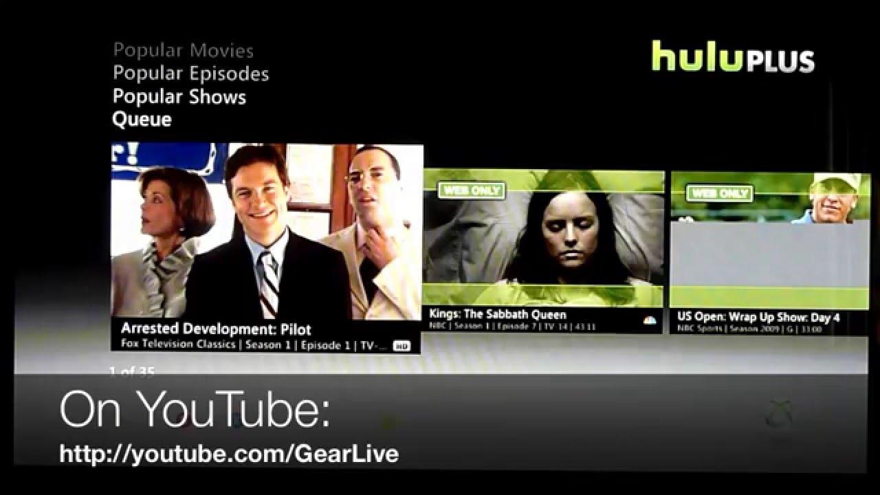 Hulu Plus a Negative on Xbox Live? « Cord Cutters :: Gadget