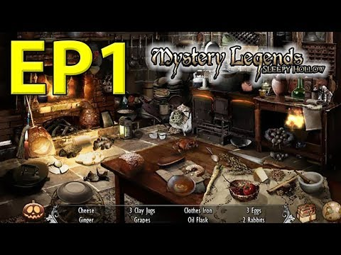 Mystery Legends: Sleepy Hollow, EP1, interaktívna hľadacia hra (Slovak)