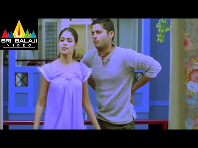 Sye Movie Nitin and Tanikella Bharani Comedy Scene | Nitin, Genelia | Sri Balaji Video