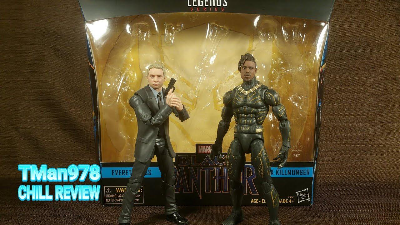 Marvel Legends Series Black Panther Everett Ross Erik Killmonger