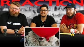 IT Movie Trailer (2017) REACTION!!
