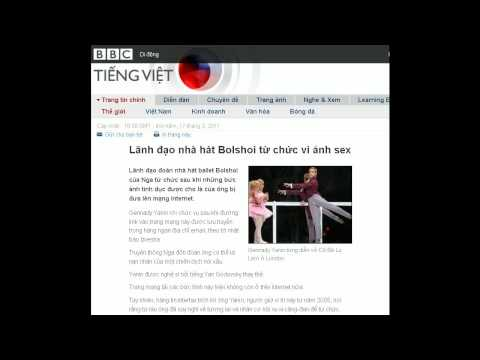 17-03-2011 - BBC Vietnamese - Lãnh đạo nhà hát Bolshoi từ chức vì ảnh sex