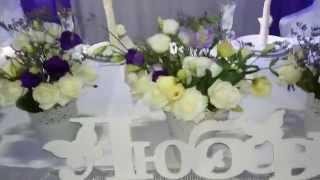 Оформление свадьбы тканями и цветами в королеве,,аренда декора на свадьбу в королеве