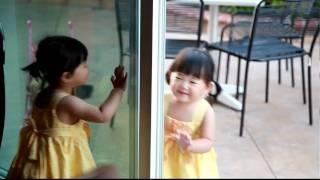 Twin Babies Talking To Each Other CUTE, Peek A Boo