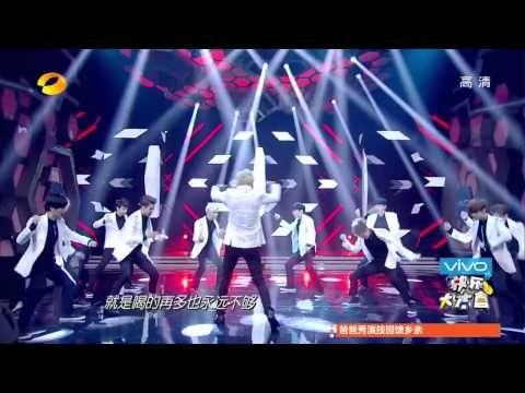 Live SHOW EXO Overdose + Moonlight (Chinese Version) 140705