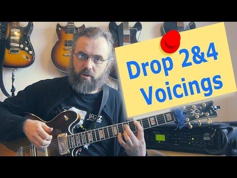 Drop2&4 voicings - Part 1