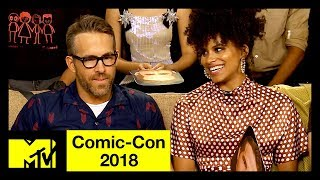 Ryan Reynolds or Deadpool? | 'More Likely To...' w/ the Cast of Deadpool 2 | Comic-Con 2018
