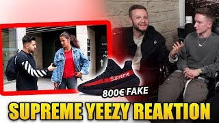 SUPREME YEEZY Reaktion mit Inscope & Tim Gabel