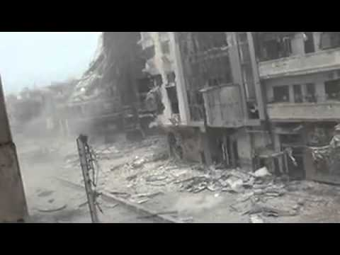 Ceasefire in Homs, Syria 2012-04-14