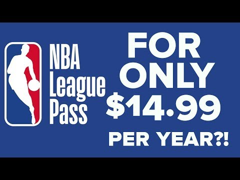 NBA League Pass For $14.99 PER YEAR!! Save $235 & No Blackouts - NBA With VPN 2019