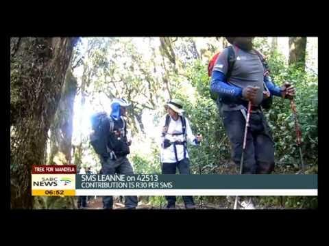 Trek4Mandela team is less than 24 hours to summit Mount Kilimanjaro