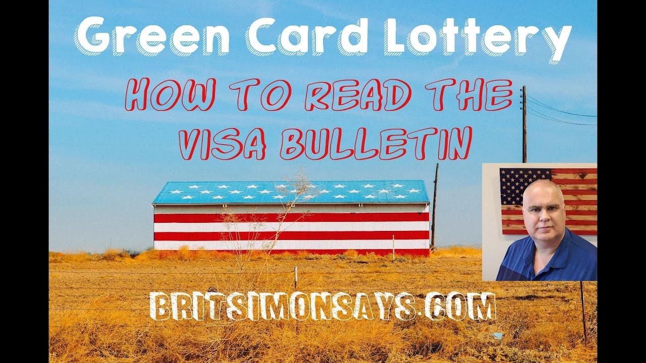 How to read the Visa Bulletin ~ BritSimonSays com