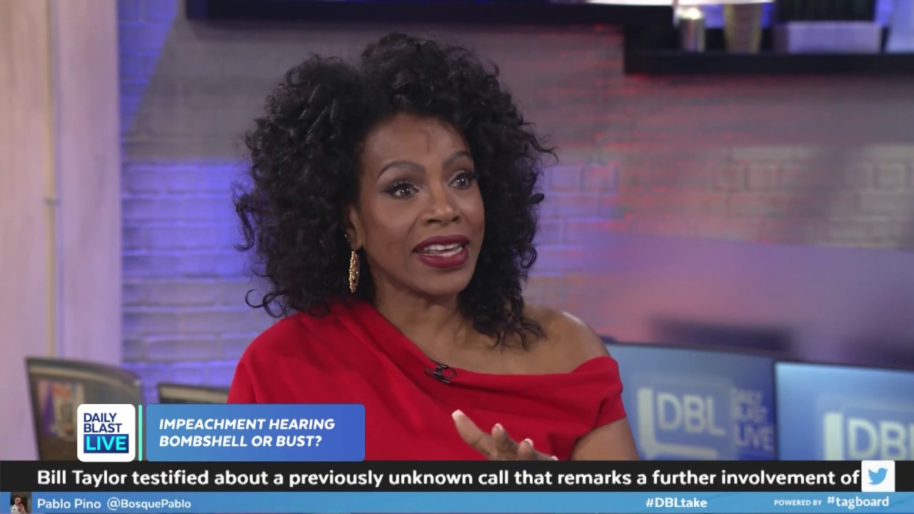 Sheryl Lee Ralph Talks Impeachment Hearing