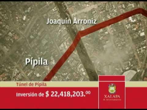 DAVID VELASCO CHEDRAUI (DVCH) TUNEL PIPILA EN XALAPA