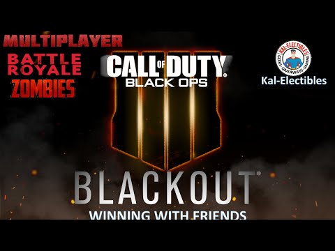 Call of Duty Black Ops 4 VR - Blackout Multiplayer - Learning As We Go