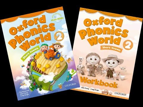 Oxford Phonics World 2 CD2 English for kids
