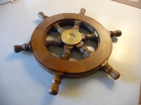 Making A Wood Ships Wheel