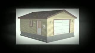 #g507 20 X 24 X 8 Garage Plans