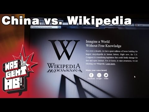 China vs Wikipedia