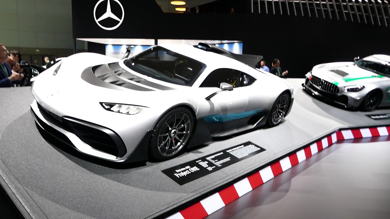 New 2018 Mercedes Benz Amg Project One Exotic Super Car Exterior