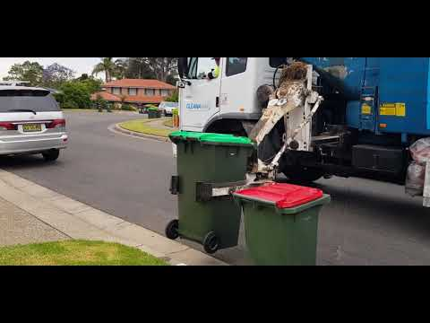 Hornsby Shire Council Green Waste Collection Bushland California Shire District #SL00640 Cleanaway