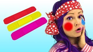 Canción Boo Boo | Canciones Infantiles | Lily Fresh Songs Español