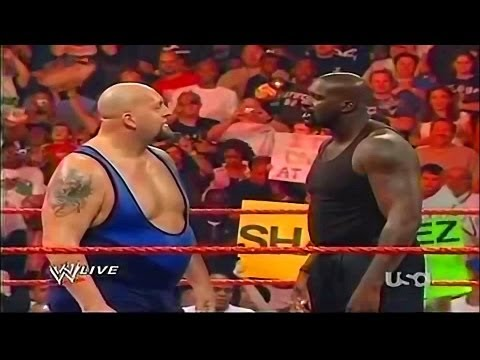 NBA STAR Shaquille O'Neal Vs WWE STAR The Bigshow