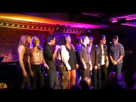 Cast of 'Boy Bands and Pop Princesses' sings