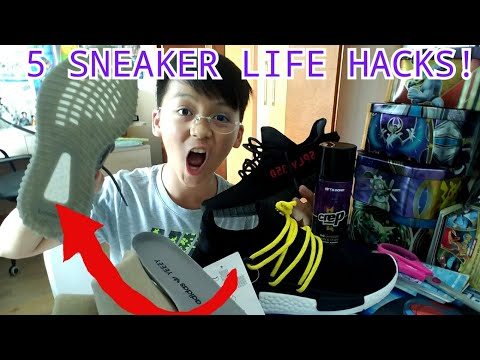 TOP 5 LIFEHACKS ALL SNEAKER HEADS SHOULD KNOW!!!