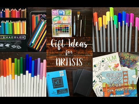 Gift Ideas for Artists