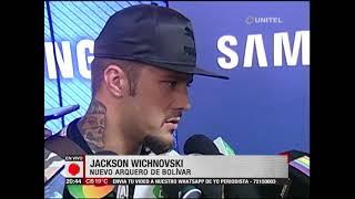 Bolívar: Wichnovski llegó a La Paz y esperan por Callejón