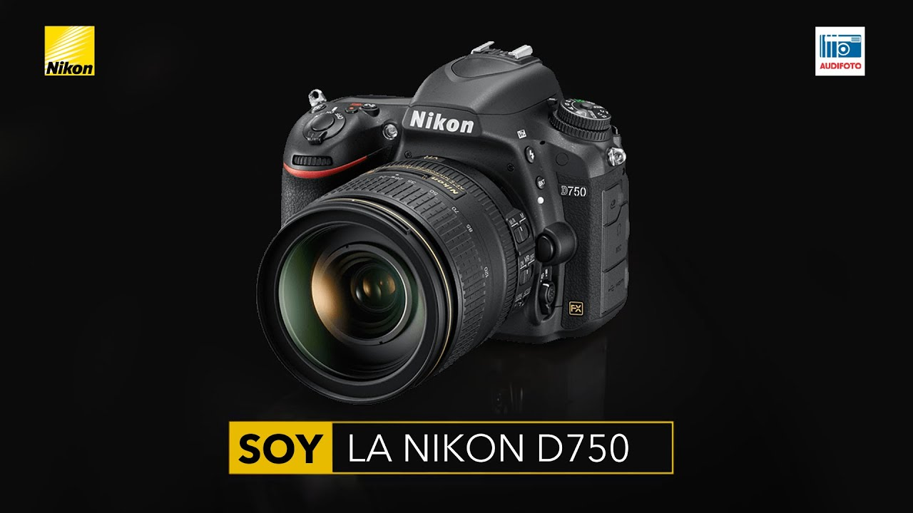 Nikon D750 - Cámara Digital Réflex - YouTube