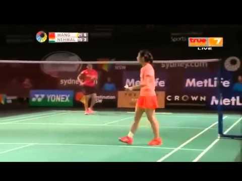 2015 The Star Australian Open QF [WS] WANG Shixian vs Saina NEHWAL (True  Sport 7) (Sports)