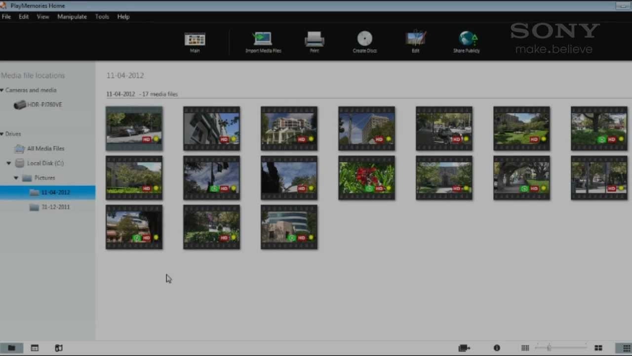 Sony handycam software free download for windows 7