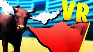Bull Fighting in VR! - Virtual Reality Gameshow! - The Incredible VR Game Show - HTC Vive VR