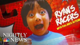 Exclusive Interview With Kid Millionaire Behind Ryan's World Toy Empire | NBC Nightly News