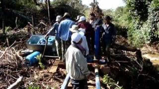 Installing a Williamson Ram Pump In Cambodia