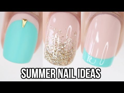 10 EASY Summer Nail Ideas! | Nail Art Compilation