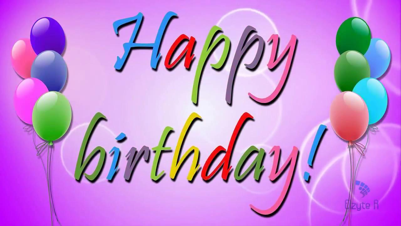 gimtadienio sveikinimas