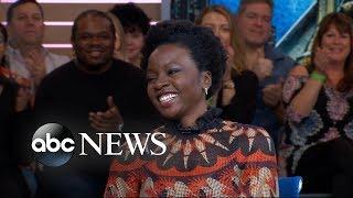Danai Gurira celebrates 'Black Panther Day' on 'GMA' | GMA