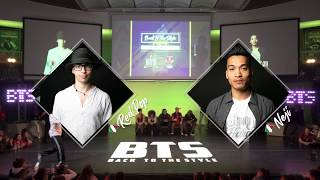 BTS 2019 \\ Popping 1/2 Final • Red Pop (Ita) vs Neji (Ita)