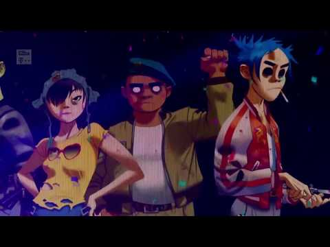 My Top 5 Humanz Songs [Gorillaz]
