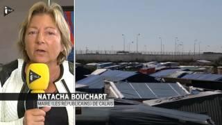 """Natacha Bouchart, maire LR de Calais : """"On n'en peut plus"""""""