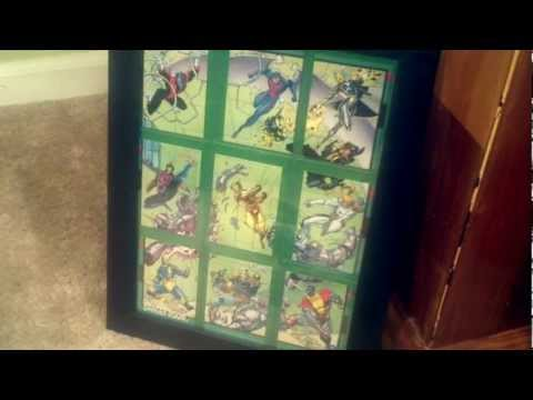 How To Frame Your Trading Cards In A Display
